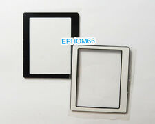 Outer LCD Screen Display Window Glass Protecor For Canon EOS Rebel XTi 400D+Tape