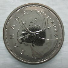 2006L CANADA 25 CENTS PROOF-LIKE COIN