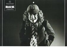 AC/DC 'demonic Angus'  magazine PHOTO/Poster/clipping 11x8 inches