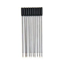 10 X Cross Type Ballpoint Pen Refills ink medium & black BDAU