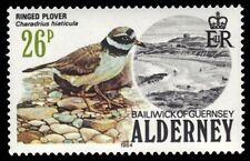 """ALDERNEY 15 (SG15) - Birds """"Ringed Plover """" (pa9646)"""