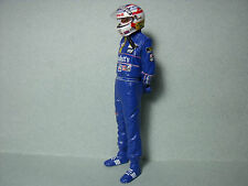 FIGURINE  NIGEL  MANSELL  WILLIAMS  F1   VROOM  1/18   UNPAINTED  FIGURE