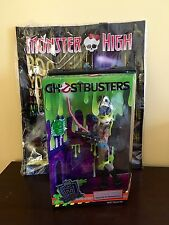 Mattel Monster High FRANKIE STEIN GHOSTBUSTERS Exclusive SDCC 2016 Doll & Bag