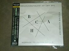 Gidon Kremer Kremerata Baltica Art of Instrumentation Homage to Glen Gould Japan