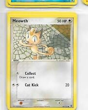 MEOWTH - 69/112 - POKEMON - EX FIRE RED & LEAF GREEN - Buy more cards and save!