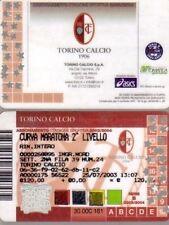 ABBONAMENTO TORINO CALCIO 2003/2004