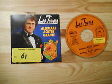 CD Schlager Lee Towers - Allemaal Achter Oranje (2 Song) DINO MUSIC