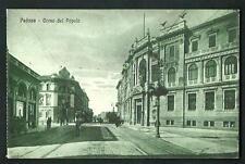 Padova : Corso del Popolo - cartolina viaggiata nel 1926 per Monaco ( Germania )