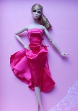 "12"" DRESSMAKER DETAILS~Fuchsia Cocktail Dress Only~Fit SIlkstone~Fashion Royalty"