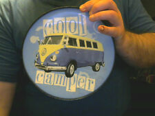 VW CAMPERVAN DECORATIVE PLATE & BOX GREAT XMAS GIFT! FREE UK POST