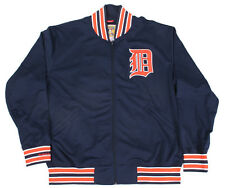 Mitchell & Ness Detroit Tigers Zip Up Stadium Track Jacket NWT