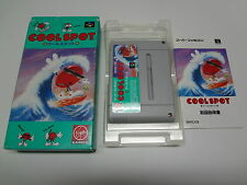 Cool Spot Nintendo Super Famicom Japan/C