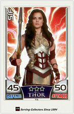 2011 Topps Marvel Universe Hero Attax THOR Movie Card T4 Sif