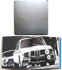 BMW AUTO MOTOCICLETTE c1972 Corporate OPUSCOLO PUBBLICITARIO dettagliata STORIA BMW