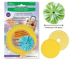 Clover Quick Yo-Yo Maker Extra Large #CL8703 Sewing Quilting Notions