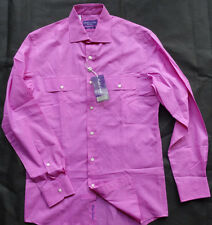 """RALPH LAUREN PURPLE LABEL Hemd """"TAILORED FIT"""" MADE IN ITALY Gr M"""