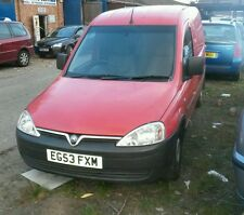 Vauxhall combo 1.7 dti 2004 86000miles spare or repair