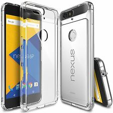 For Huawei Google Nexus 6P Case Ringke FUSION CLEAR Transparent Slim Bumper Case