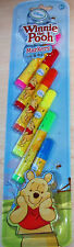 BNIP New Disney Winnie the Pooh 6 Colour Markers Pens