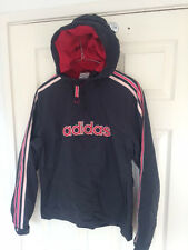 womens ADIDAS spellout vtg festival 90s jacket in size 10 small