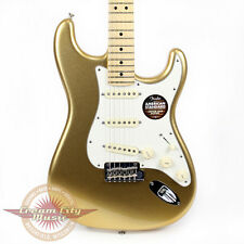 Brand New Fender FSR American Standard Stratocaster Mystic Aztec Gold Strat Demo