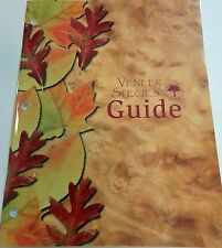 Wood veneer species guide with 80 pages of color pictures and descriptions