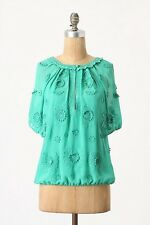NIP Anthropologie Windflower Blouse by LeifNotes Size 8
