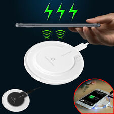 Wireless Charger Pad Dock + Receiver For iPhone 5 5s 5c 6 6s Plus Charging Kit