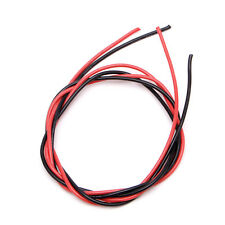 16AWG Gauge Silicone Wire Flexible Stranded Copper Cable 10 Feet Fr RC Black Red