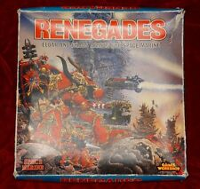 Games Workshop Warhammer 40k Renegades Board Game RARE OOP