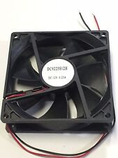 FAN 12V DC 92 92mm 25mm0.23A 3100 RPM 90mm 1 fan