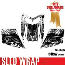 SLED WRAP DECAL STICKER GRAPHICS KIT FOR SKI-DOO REV MXZ SNOWMOBILE 03-07 SL6556