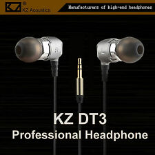KZ DT3 Professional High-End Double Unit Headphone Kopfhörer In-Ear PU Hardcase