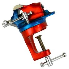 "Jewelers 1-1/2"" Revolving Bench Clamp Vise Jewelry Making Tool Hobby Table Vice"