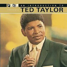 FREE US SH (int'l sh=$0-$3) NEW CD Taylor, Ted: Introduction to Ted Taylor Origi