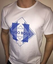 Hugo Boss BOSS Mens t-shirt Top Green Label BNWT New White size XL