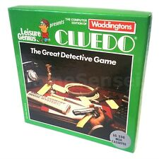 Retro MSX Video Game CLUEDO WADDINGTONS LG 330 for MSX w/ BOOKLET and NOTEPAD
