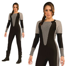 Mesdames katniss fancy dress costume guerrier lara croft tenue