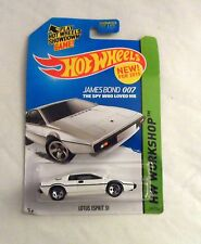 NEW HOT WHEELS JAMES BOND OO7 THE SPY WHO LOVED ME LOTUS ESPIRT S1 219/250