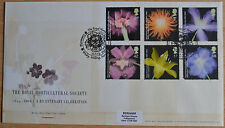 GB FDC 2004 The Royal Horticultural Society