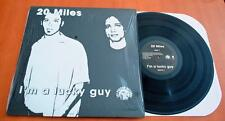 20 Miles - I'm A Lucky Guy - 1998 US Fat Possum Vinyl LP - Opened Shrink