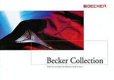 Prospekt Becker Collection 2005 D-1265 clothes sportswear watches caps overalls