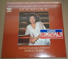 Kyung Wha Chung/Dutoit LALO/SAINT-SAENS - London LDR 71029 SEALED