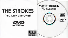 THE STROKES You Only Live Once 2006 UK 1-trk promo DVD