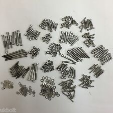 448 Qty Kit SUZUKI TS MT PV50 RGV 250 RH TM STAINLESS ENGINE / FRAME BOLTS