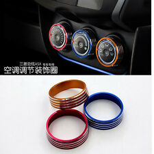 ​Car Sound Knob Cover Circle Sticker For Mitsubishi ASX Air Conditioning Button