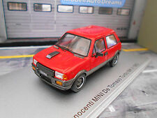 INNOCENTI MINI De Tomaso Turbo MKII 1983 red rot Resin Highenddetail Kess 1:43