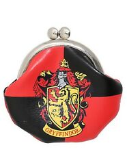 Harry Potter Gryffindor Faux Leather Kiss Lock Coin Purse New With Tags!