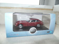 Oxford JAGV12003 1/43 O Scale Jaguar E Type Mk Series 3 III V12 Regency Red