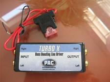 PAC TURBO X FIXED LINE DRIVER SIGNAL BOOSTER FOR SOURCE LEVEL MATCHING ! New **